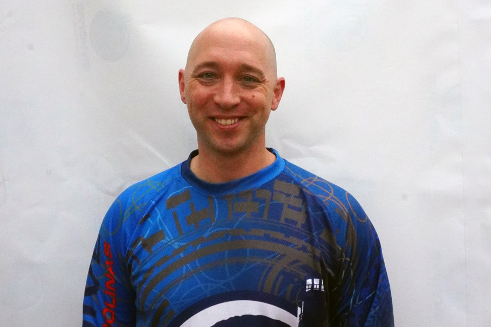 Headshot of Skydive Coastal Carolinas skydiving instructor Aaron Gallegos